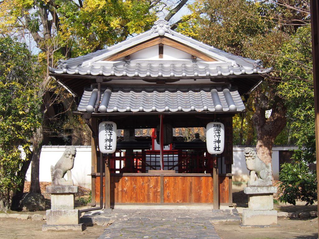 鎮宅霊符神社の拝殿