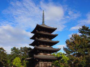 【興福寺】高さ50メートルに及ぶ「興福寺五重塔」の歴史やみどころを徹底解説!内部はどうなってるの?