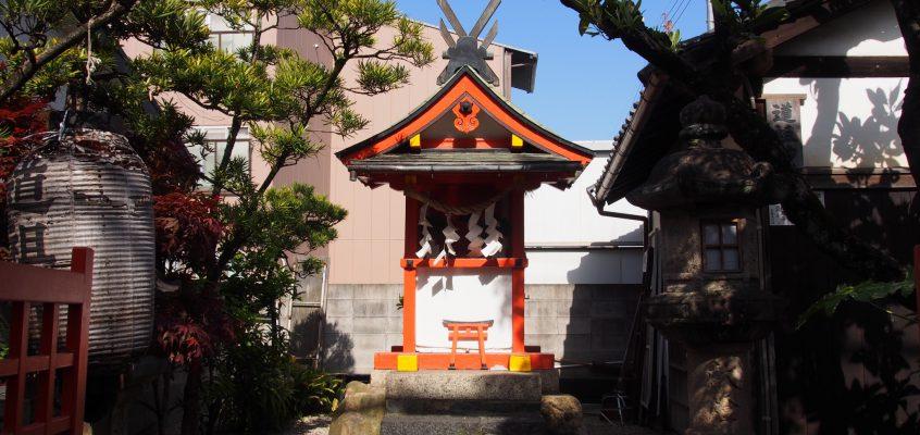 【猿田彦神社(道祖神社)】ならまちの道祖神は「賽の神」としても知られる
