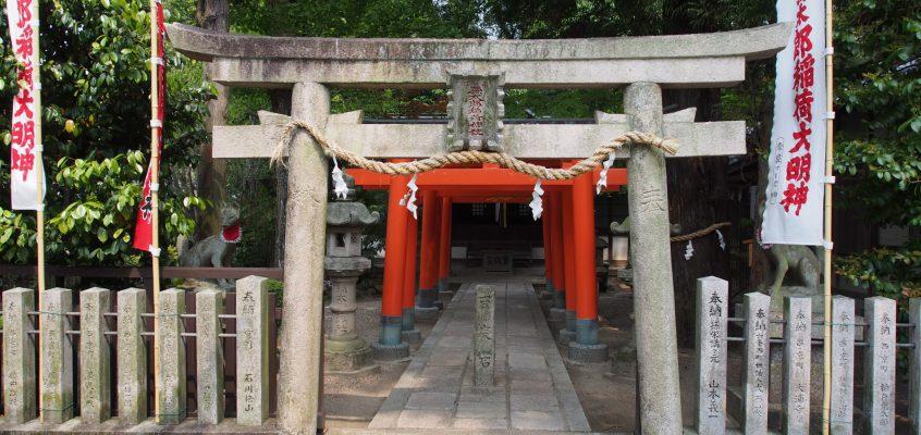 【西の京】薬師寺と隣接する姫路由来の神社「孫太郎稲荷神社」ってどんなところ?境内を写真でご紹介!