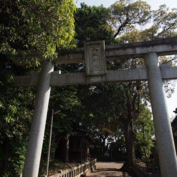 【八坂神社(山町)・円満寺】一つの境内に「算額」で有名なお堂と神社が同居する