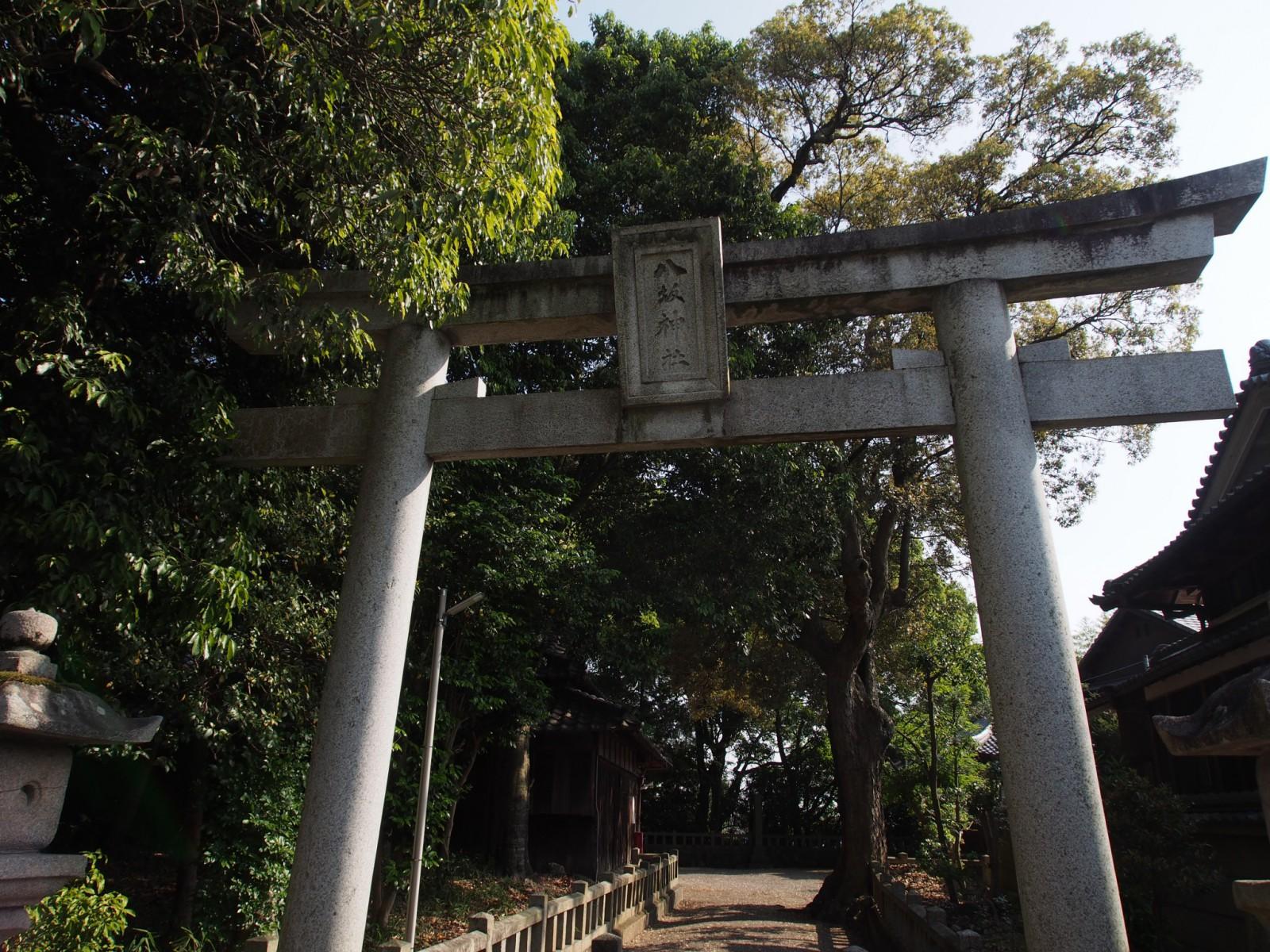 八坂神社(山町)の鳥居
