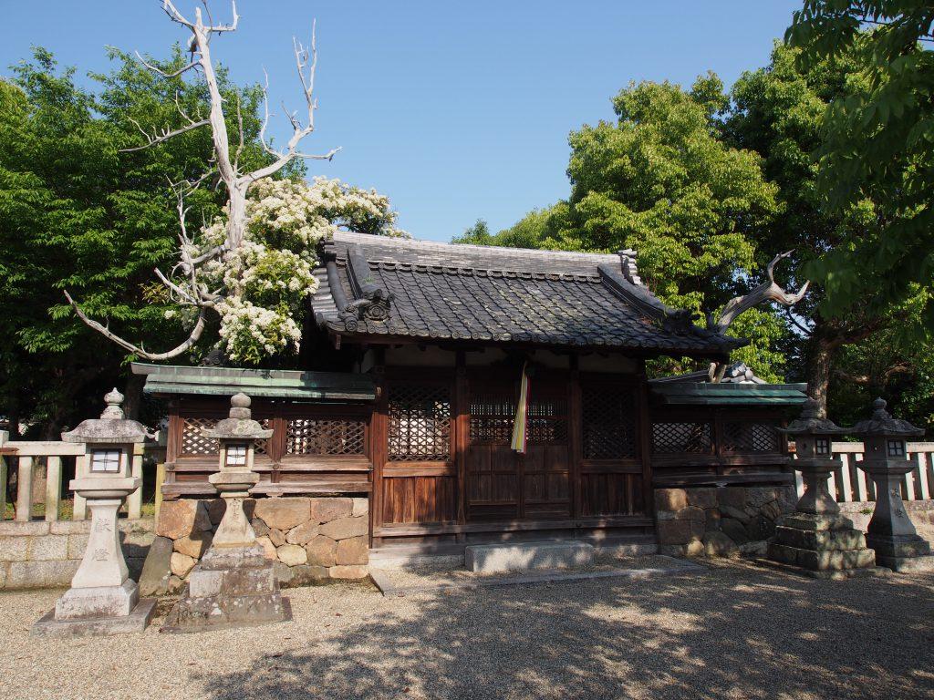 八坂神社(柴屋町)境内地