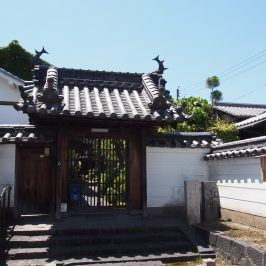 高林寺(奈良町)の山門