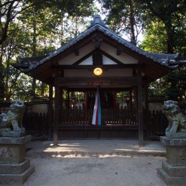 【佐紀神社(亀畑)】平城宮跡近くにある立派な神社は飛鳥時代の創建とも