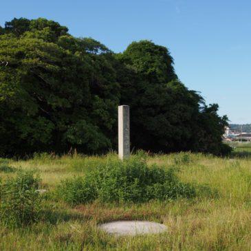 【大安寺塔跡】高さ70メートル程の七重塔が二基存在したとも言われるのどかな空間