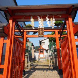 八鐵神社(弁財天)の鳥居