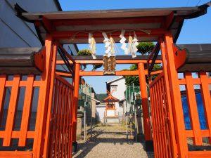 【きたまち】小さくも美しい神社「八鐡神社(弁財天)」ってどんなところ?【京街道】