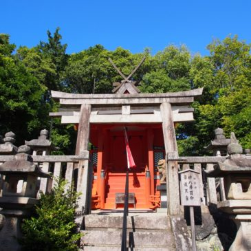 【嶋田神社】山辺の道沿いにある立派な「春日移し」の本殿で知られる神社