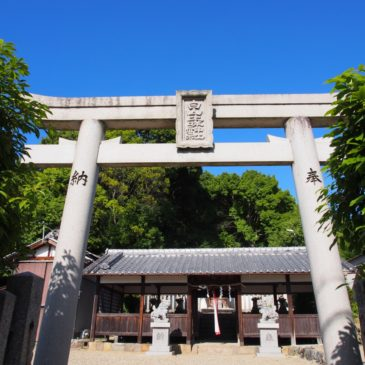 【白山比咩神社】眺めの良い「山辺の道」沿いの田園風景に包まれた神社