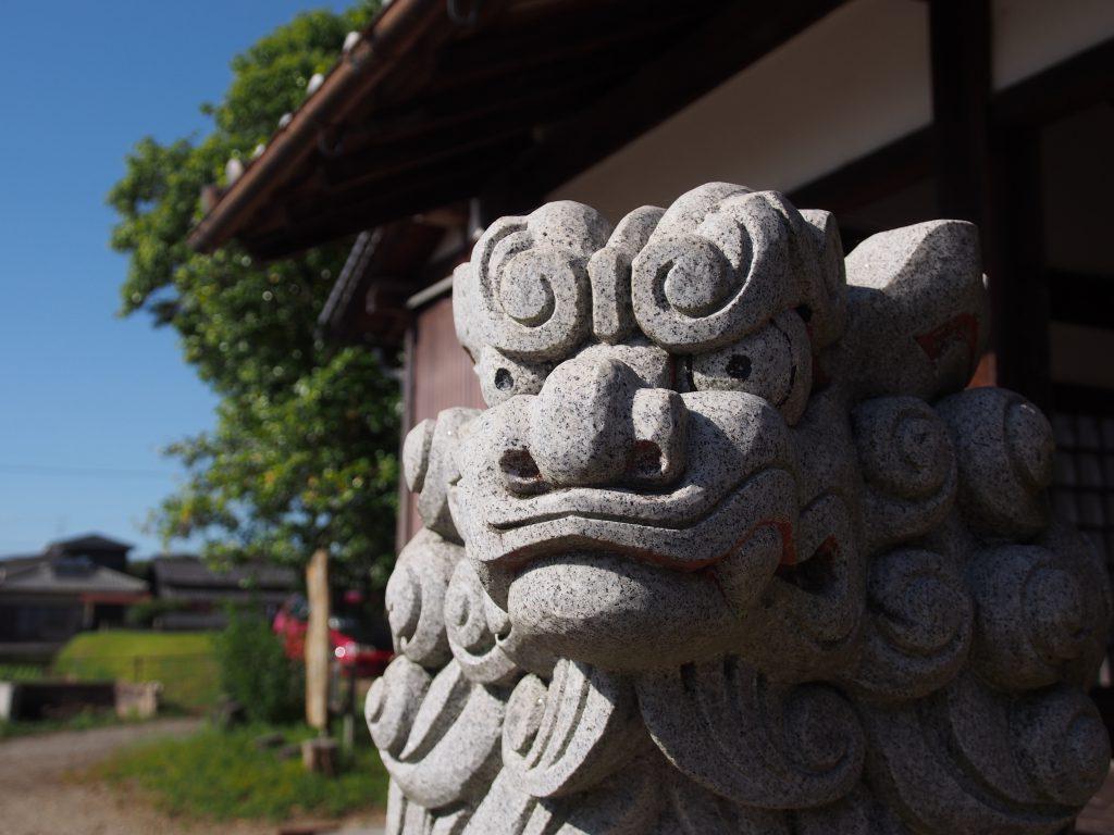 白山比咩神社の狛犬
