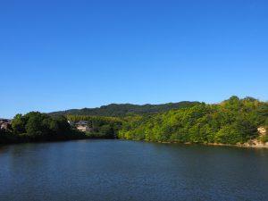 【山辺の道】観光スポットではないけど眺めの良い「平尾池」ってどんなところ?【風景写真】
