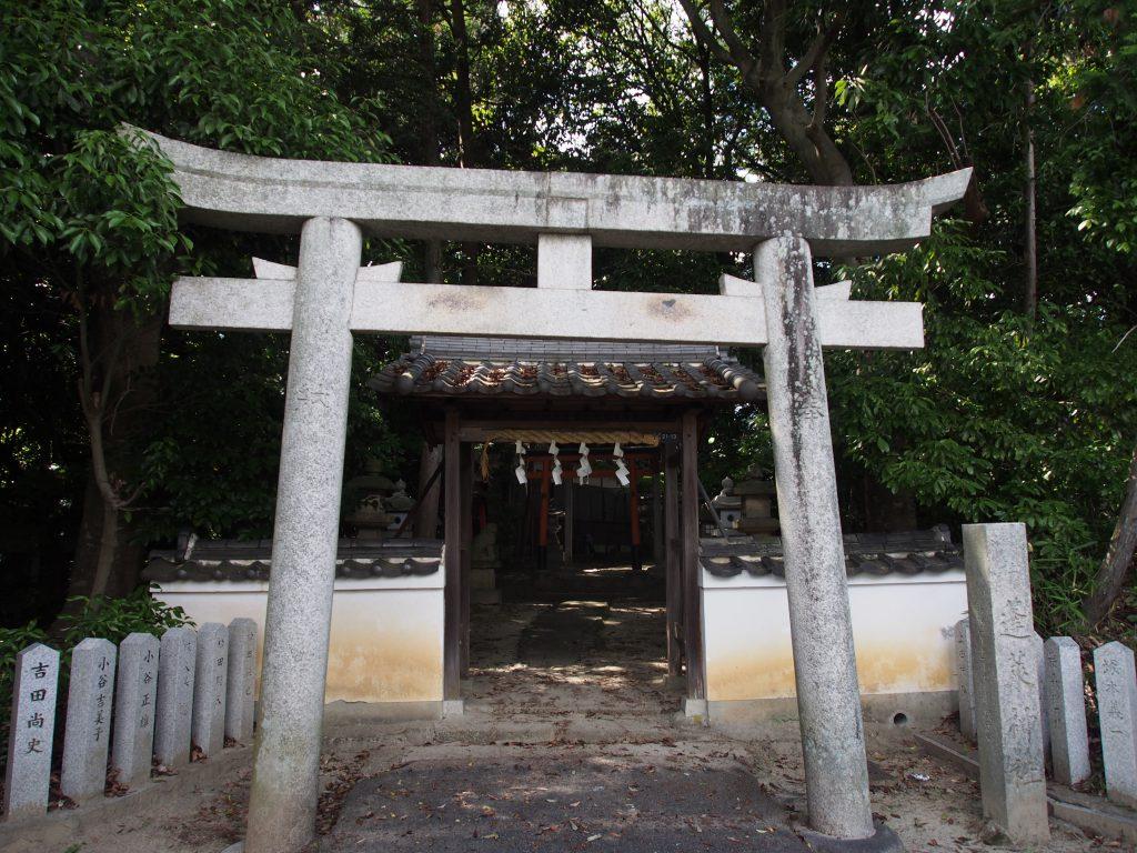 蓬莱神社の鳥居