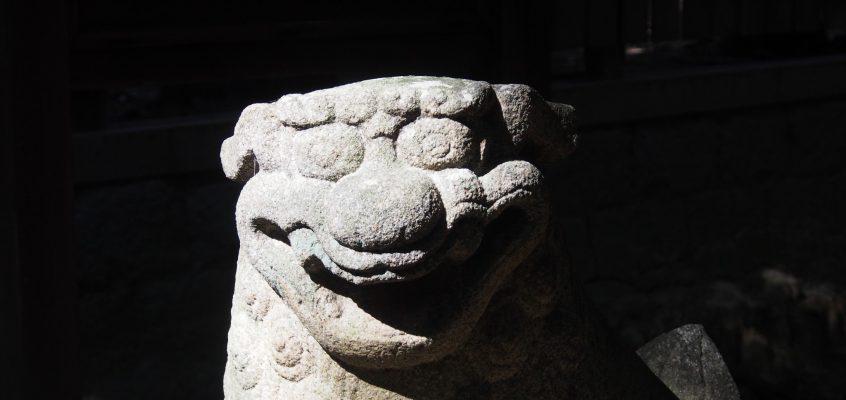 【奈良・尼ヶ辻】笑う狛犬が神社を守る「蓬莱神社」ってどんなところ?境内をくまなく写真でご紹介!
