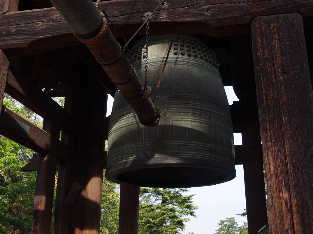 東大寺鐘楼の「大鐘」