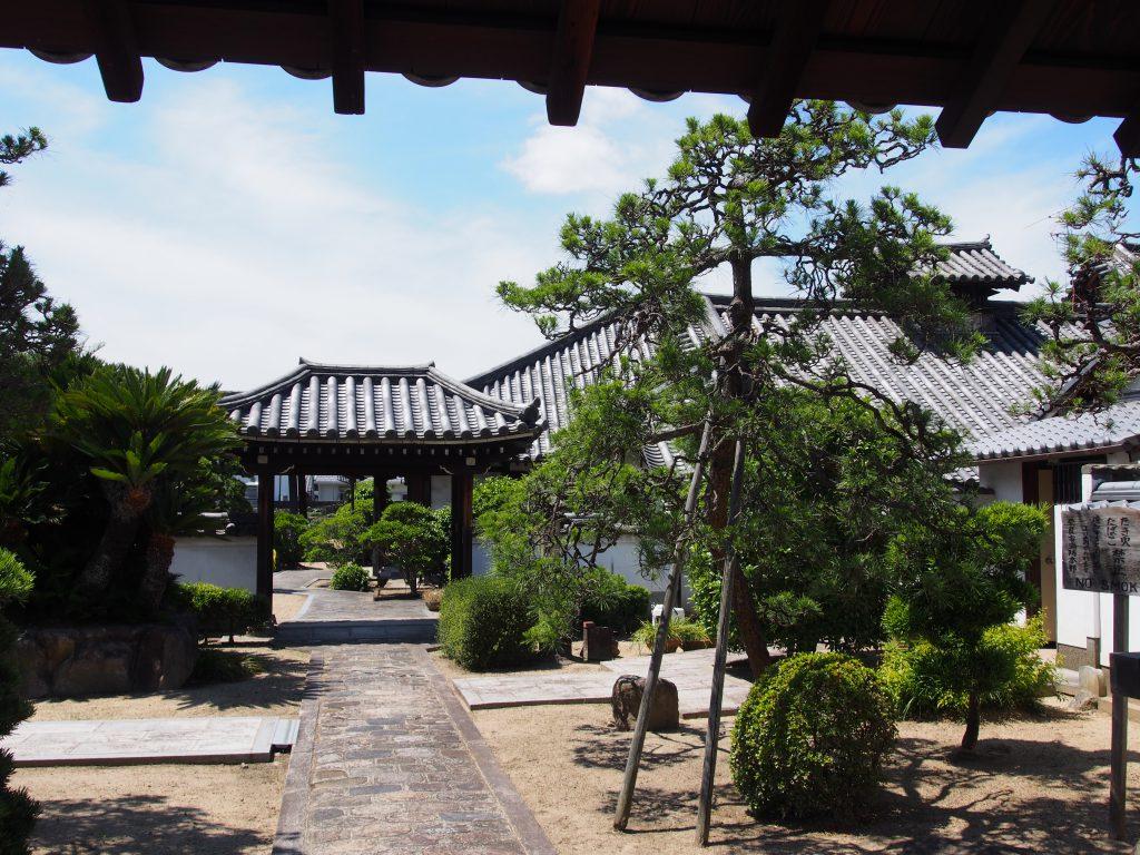 阿弥陀寺の境内地(奈良町)