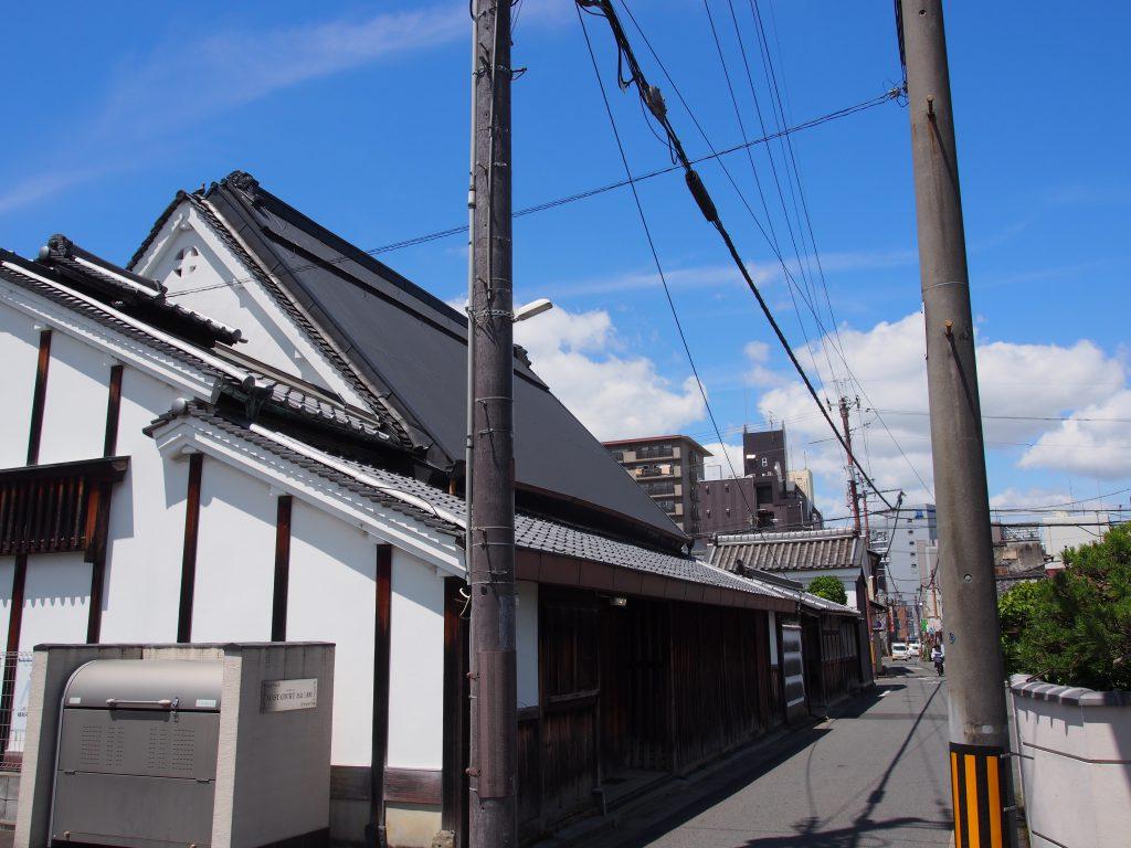 農村集落の面影を残す「奈良・三条町」エリア