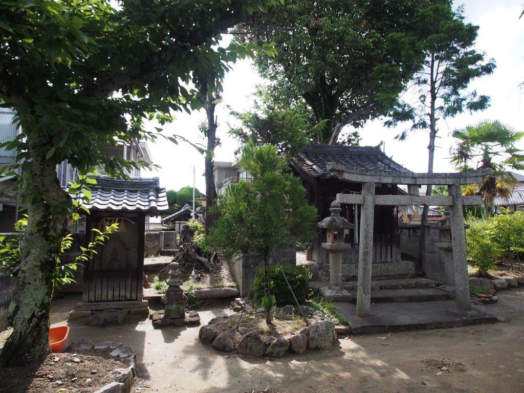 野神神社の境内地(奈良)