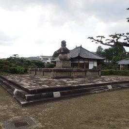 西大寺奥の院・叡尊五輪塔