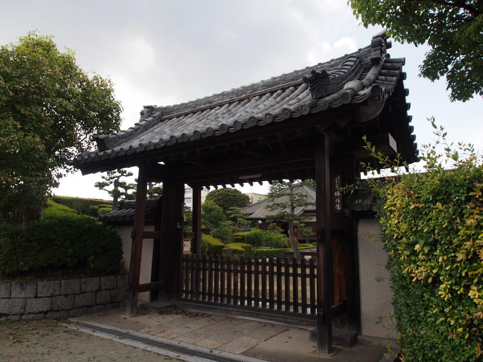 西大寺奥之院(法界躰性院)の山門