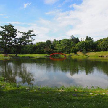 【名勝旧大乗院庭園・文化館】水辺の風景が美しい「善阿弥」ゆかりの美しい庭園
