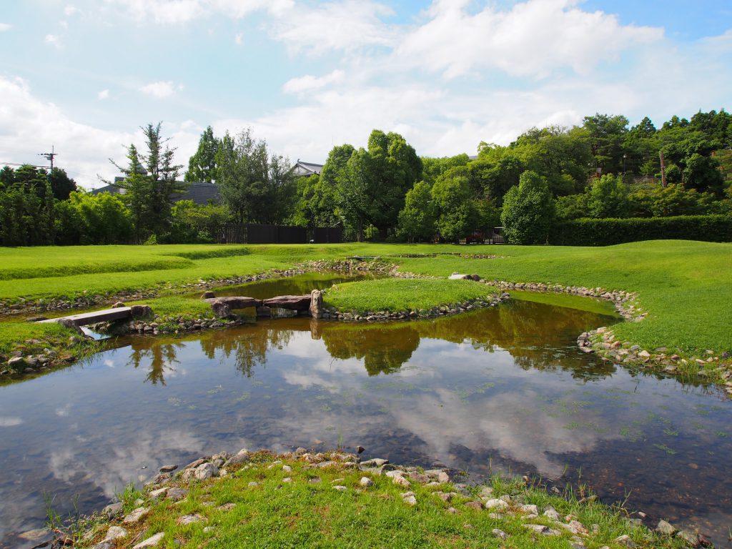 西小池(旧大乗院庭園)