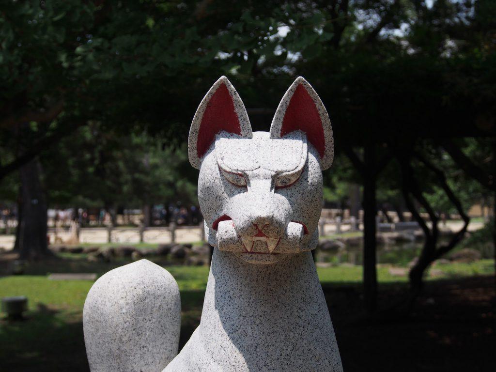 【奈良公園】東大寺の近くの妖しげな空間「睡神社(ねむりじんじゃ)」ってどんなところ?【ねむり稲荷】