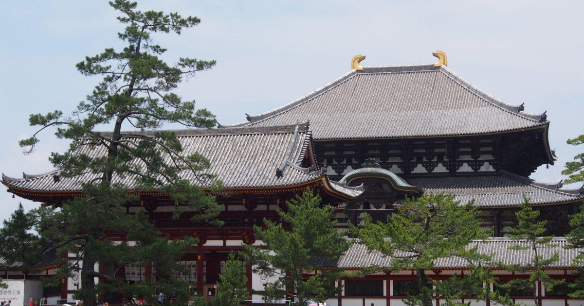 鏡池(奈良・東大寺)
