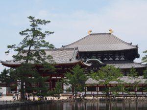 【東大寺】水面に映る大仏殿が美しい「鏡池」ってどんなところ?【現代アート】