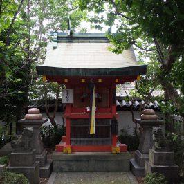 「饅頭祭」の会場となる林神社
