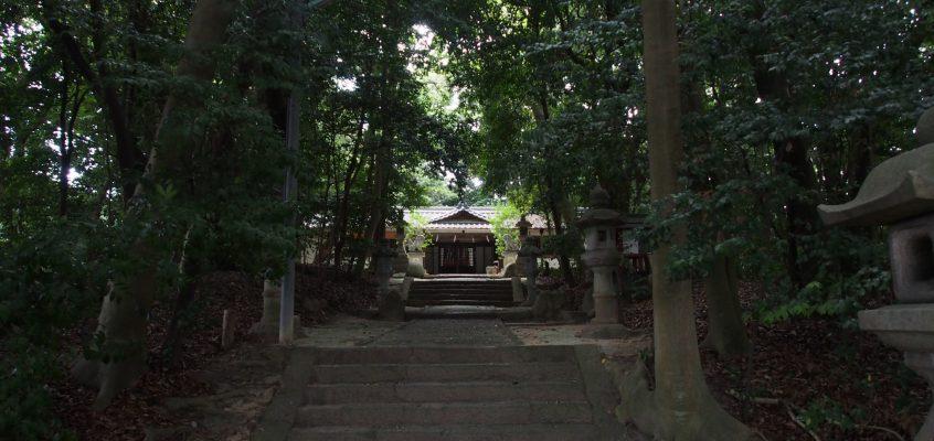 【養天満神社】薬師寺近くの神社は文化財指定を受ける見事な「鎮守の森」を有する