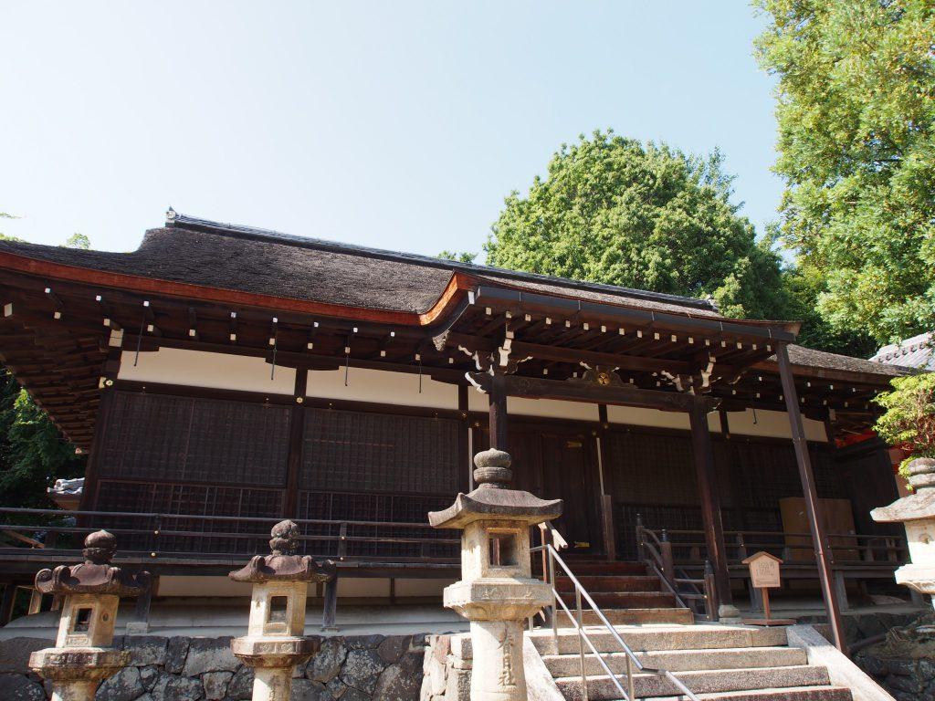 徳川綱吉の母が寄進した「桂昌殿」