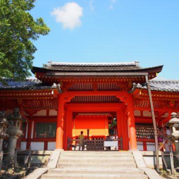 【春日大社内侍門】かつての斎女・内侍の通用門は絶好の写真撮影スポット