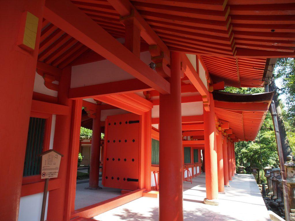 春日大社回廊と慶賀門