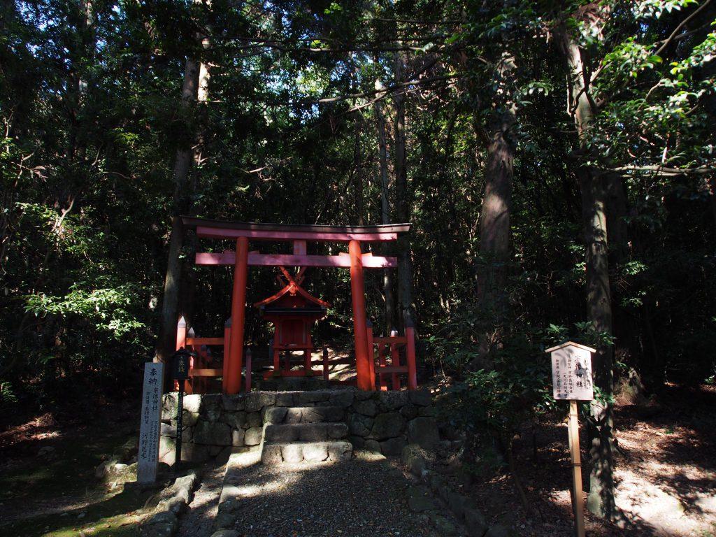 小ぶりな「宗像神社」とその周辺