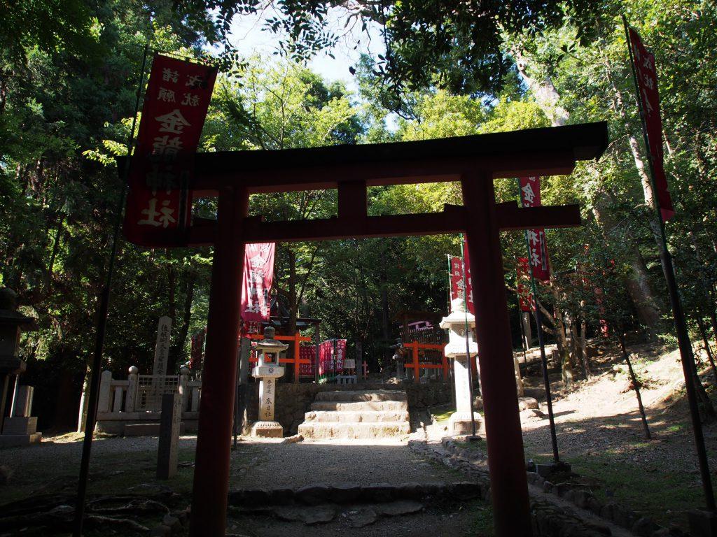金龍神社の鳥居