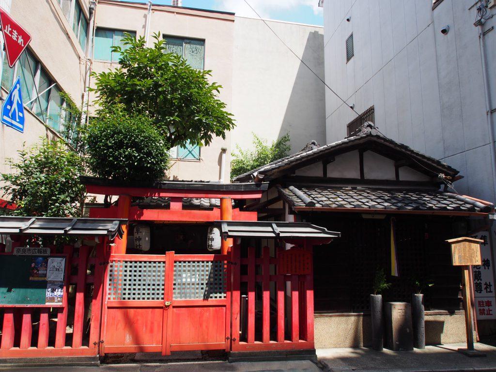 【奈良駅周辺】メインストリート脇の知られざる空間「隼神社・延命地蔵尊」ってどんなところ?歴史などをご紹介!
