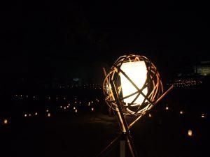 なら燈花会(奈良国立博物館)