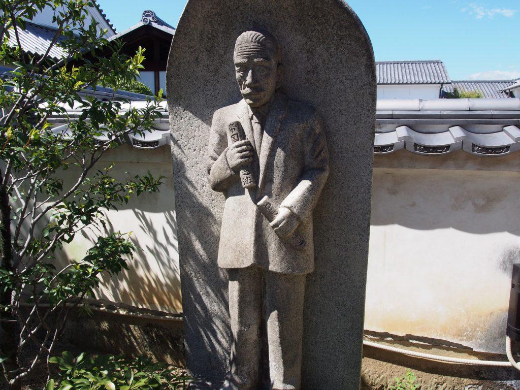 吉村長慶像(徳融寺)