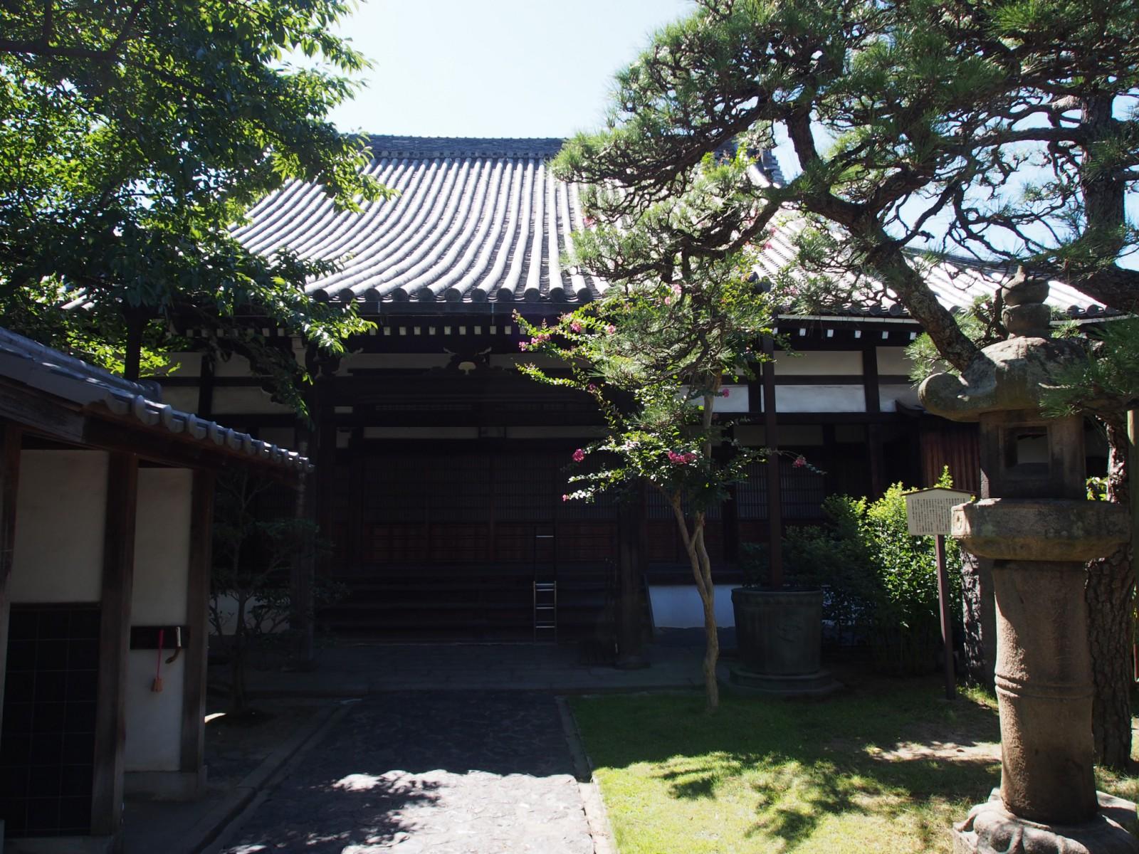 徳融寺の本堂