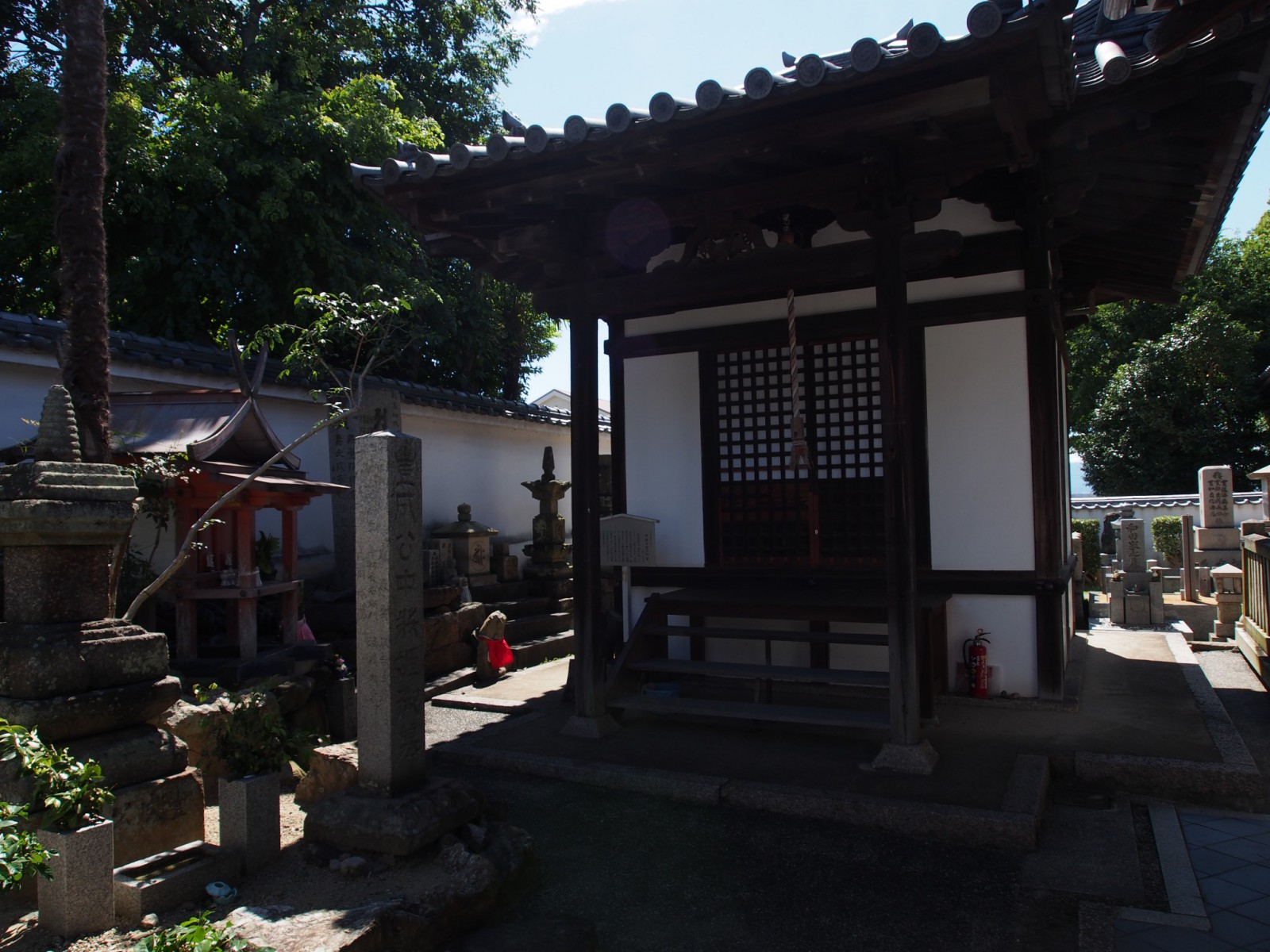 徳融寺毘沙門堂