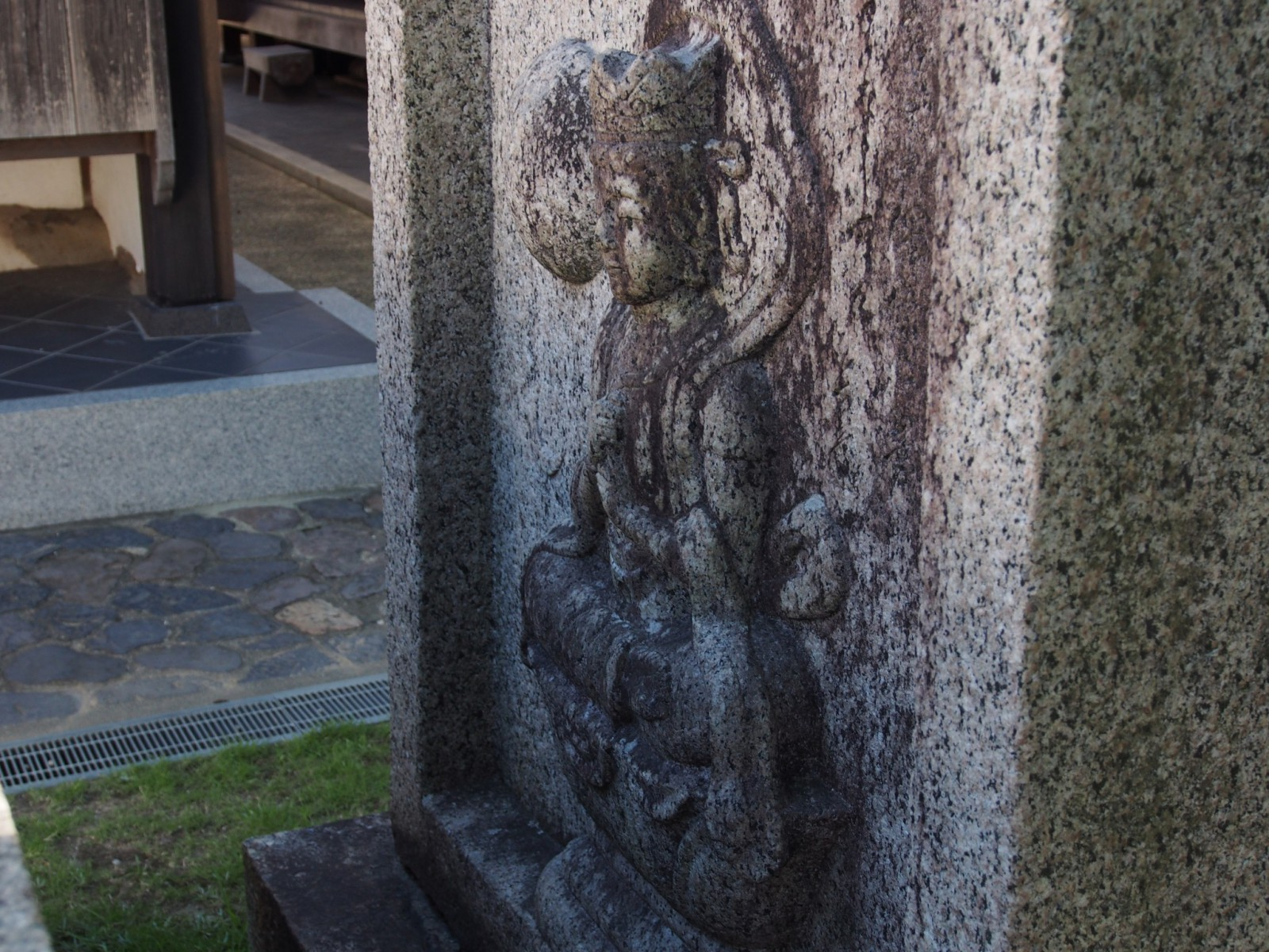 世界二聖・大日如来像に描かれた仏さま