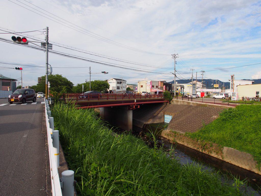 高橋神社近隣にある橋「高橋」