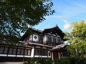 【旧奈良県物産陳列所】平等院を模した近代建築は和洋・イスラームなど様々な意匠を取り入れる