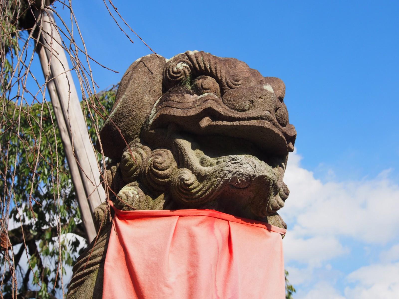 非無論神社の狛犬