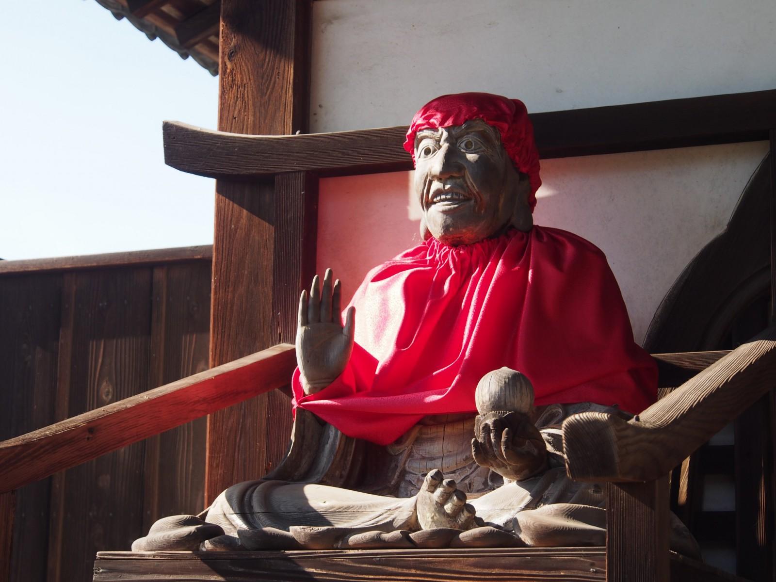 賓頭盧尊者坐像(指図堂)
