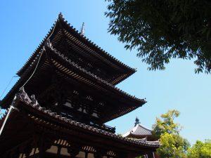 【興福寺三重塔】境内最古の建築は「七夕」の日に特別公開される