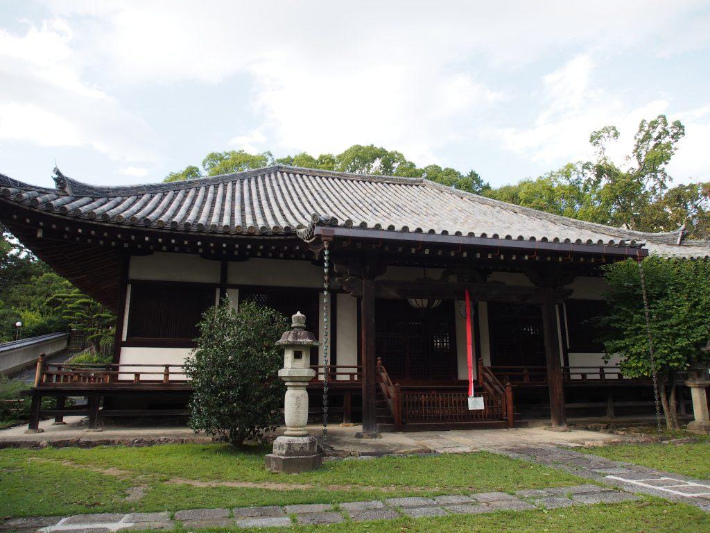 興福寺菩提院大御堂全景