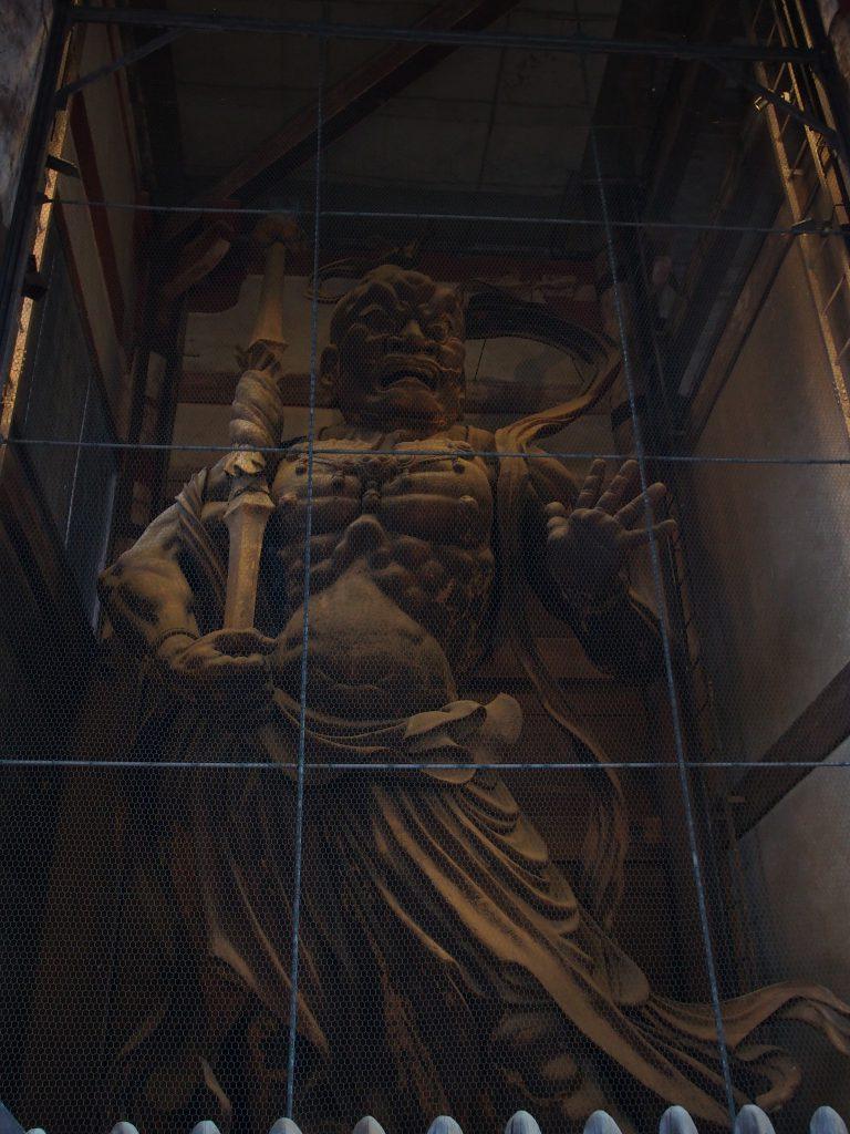 東大寺南大門金剛力士像「阿行(あぎょう)像」