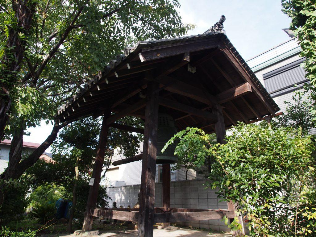 鐘楼(元興寺塔跡)